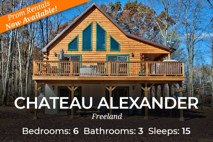 Fabulous Cabins For Rent Near Poconos Pa Cabin Rentals For Groups Interior Design Ideas Inesswwsoteloinfo