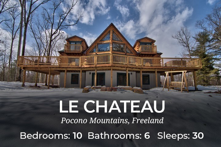 Admirable Large Pocono Cabin Rentals Large Pocono Vacation Rentals Interior Design Ideas Inesswwsoteloinfo